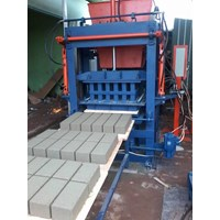 Mesin Press Hydrolic Paving Block Dan Batako Semi Automatic 1