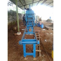 Jual Mesin Press Hydrolic Paving Block Dan Batako Semi Automatic 2
