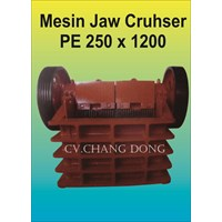Mesin Batu Jaw Cruhser Pe 250 X 1200 1