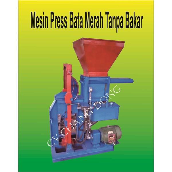 Mesin Cetak Bata Press Tanpa Bakar