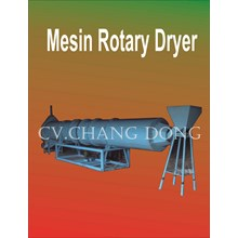Mesin Perkebunan Rotary Dryer