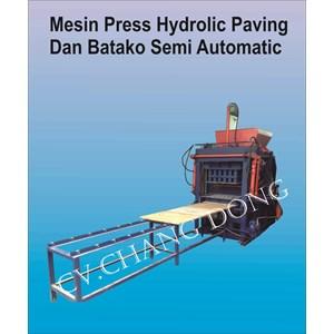 Mesin Press Hydrolic Paving Dan Batako Semi Automatic