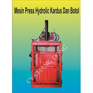 Mesin Press Hydrolic Kardus Botol Dan Sabut Kelapa