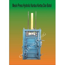 Mesin Press Hydrolic Kertas Kardus Dan Botol
