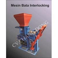 Jual Mesin cetak bata Press Interlocking