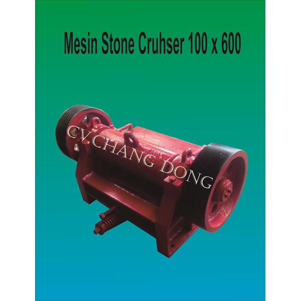 Mesin Batu Stone Crusher 100 X 600