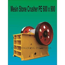 Mesin Batu Stone Crusher 600 X 900