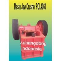 Jual Mesin Batu Jaw Crusher POL4060