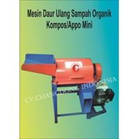 Mesin Perajang Sampah Organik  ( Kompos Mini )