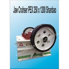 Mesin Batu Jaw Crusher PEX250x1200 Shanbao