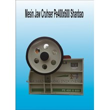 Mesin Batu Jaw Cruhser Shanbao PE400x600