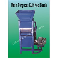 Mesin Pengolah Kopi Basah ( Pulper kopi )