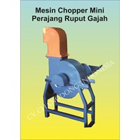 Mesin Perajang Rumput Gajah ( Chopper Mini )