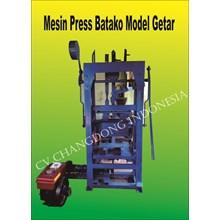 Mesin Cetak Bata Dan Paving Block Model getar