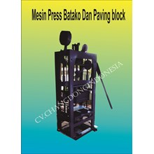 Mesin Cetak Paving Block Model Getar