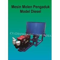 Mesin Pengaduk Adonan Batako Model Dieel 1