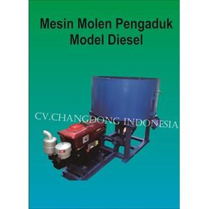 Mesin Pengaduk Adonan Batako Model Dieel