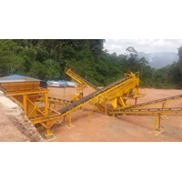 Mesin Batu Stone Cruhser Plant 30-40 TPH
