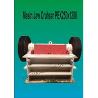 Mesin Batu Cruhser PEX250x1200 Shenking