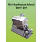 Mesin Pengaduk Mixer Hrizontal stainless steel 1
