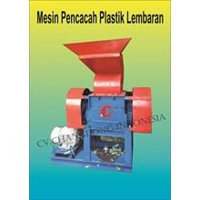 Mesin Pencacah Plastik Lembaran