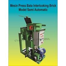 Mesin Press Interlocking Semi Automatis