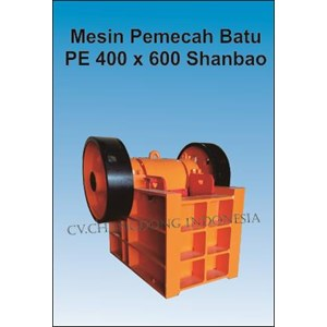 Mesin Pemecah Batu Shanbao PE400x600