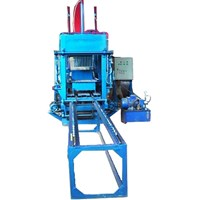 Mesin Press Hydrolic paving Block Semi Automatis