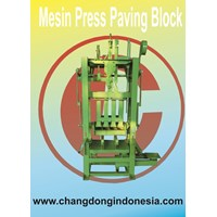 Mesin press Paving Block
