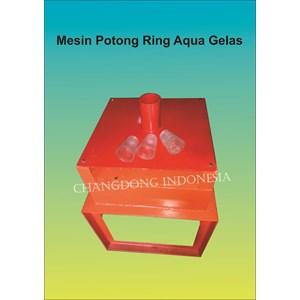 Mesin Pemotong Ring Aqua gelas model 1 Lubang