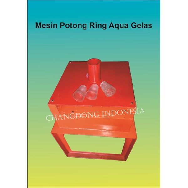 Mesin Pemotong Ring Aqua gelas model 1 Lubang