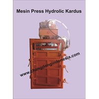 Mesin Press Kardus Model Hydrolic