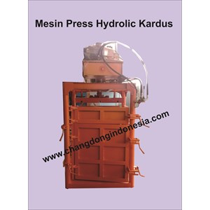 Mesin Press Kardus Model Hydrolic