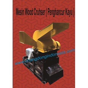 Mesin Pemotong kayu wood crusher
