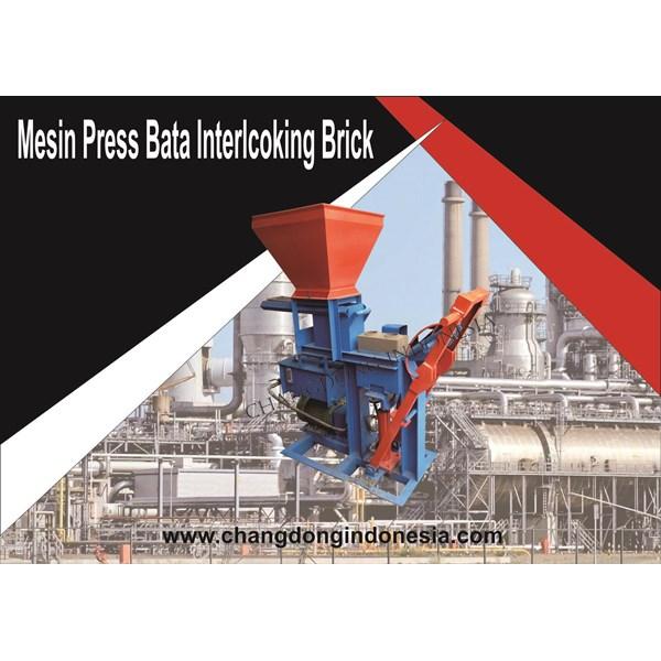 Mesin Cetak Bata / Mesin Paving Model Interlocking