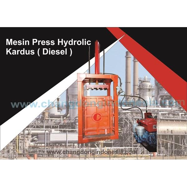 Mesin Press Hydrolic Kardus ( Diesel )