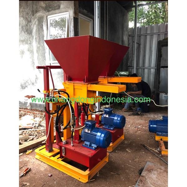 Mesin Cetak Bata Merah Hydrolik Tanpa Bakar
