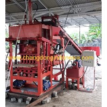 Mesin Press Paving block Semi otomatis