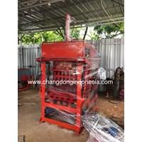 Mesin Cetak paving Block Semi otomatis Ready Stock
