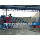 Mesin Cetak Paving Block Dan Batako Semi Otomatis PLTU Pelabuhan Ratu 2