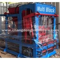 Mesin cetak batako / Mesin Paving Block Full otomatis PLC
