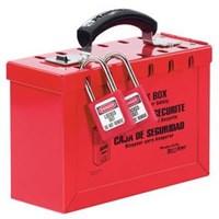 Jual Master Lock 498A Portable Red Group Lock Box