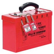 Master Lock 498A Portable Red Group Lock Box