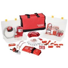 Master Lock 1458VE410 Group Lockout Kit Valve and Electrical