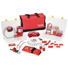 Master Lock 1458VE1106 Group Lockout Kit Valve and Electrical