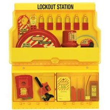 Master Lock S1900VE1106 Deluxe Safety Lock out Station