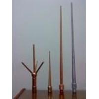 AIR TERMINAL KONVENSIONAL - TOMBAK PENANGKAL PETIR - Produk Tembaga dan Kuningan 1