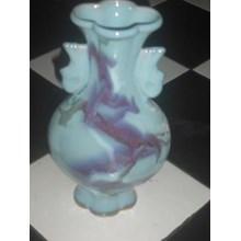 guci keramik dinasti antik dan unik motif ungu
