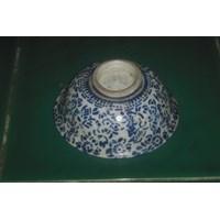 Mangkok Keramik Motif Bunga