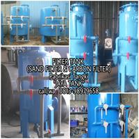 Sand filter 12 m3/j Carbon filter 12 m3/j Filter tank 12 m3/j
